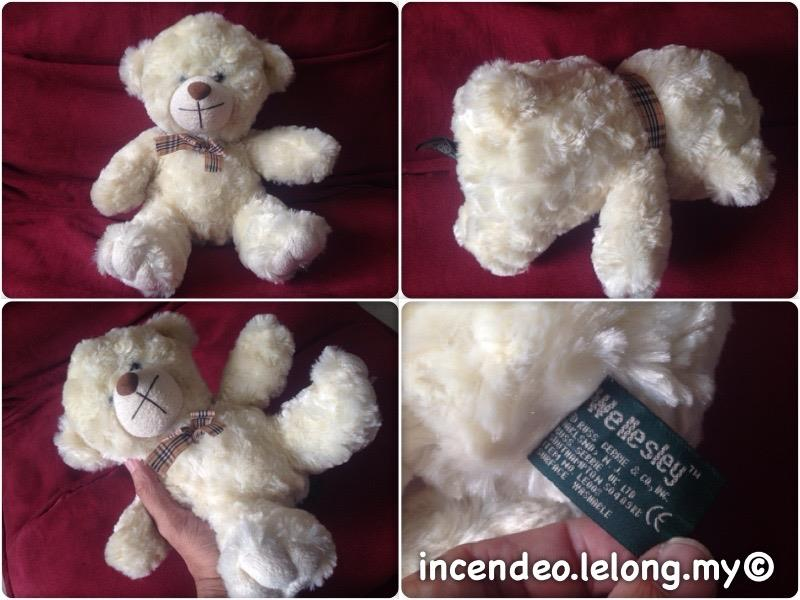 **incendeo** - RUSS BERRIE Wellesley Collectible Teddy Bear