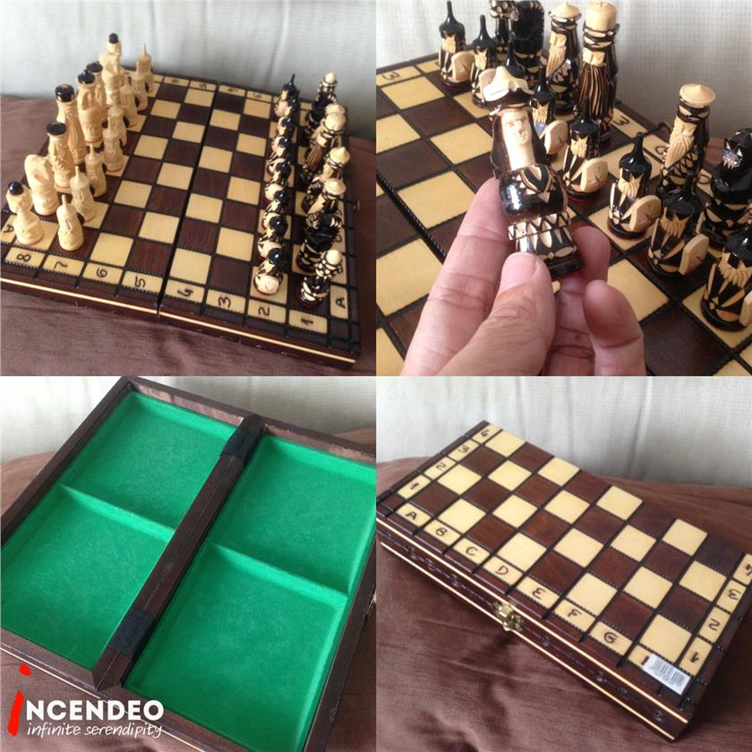 **incendeo** - Russia Handcrafted Wooden Chess Set