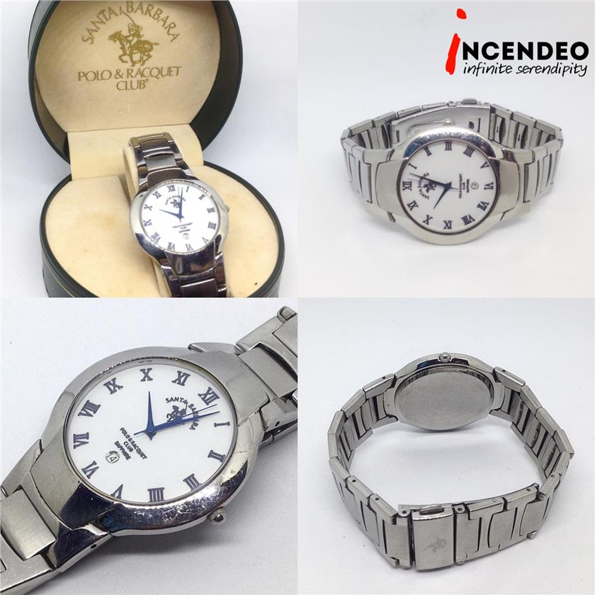 **incendeo** - SANTA BARBARA Stainless Steel Quartz Watch