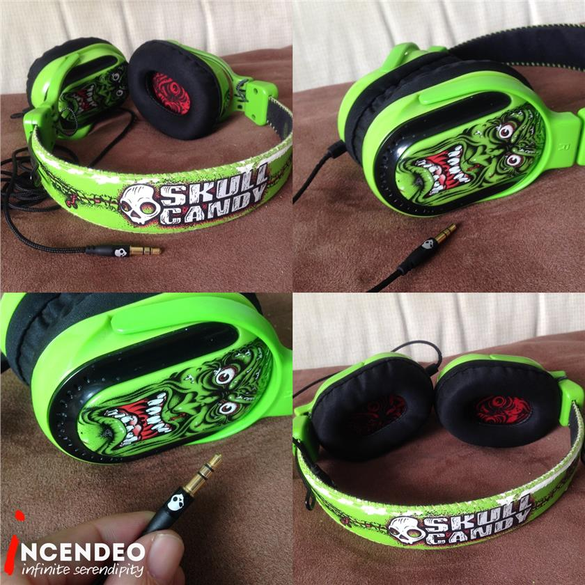 **incendeo** - SKULLCANDY Santa Cruz Agent Zombie Headphone
