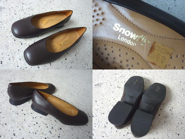 **Incendeo** - Snowfly London Brown Genuine Leather Shoe for Ladies