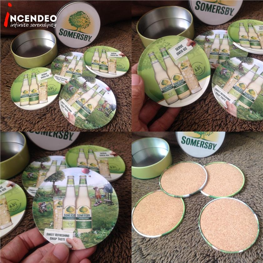 **incendeo** - SOMERSBY Collectible Coaster