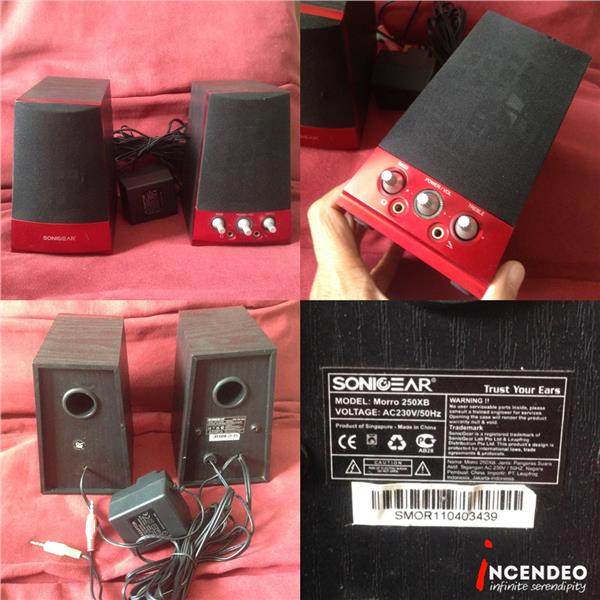 **incendeo** - SONIGEAR Morro 250XB Stereo Active Speaker