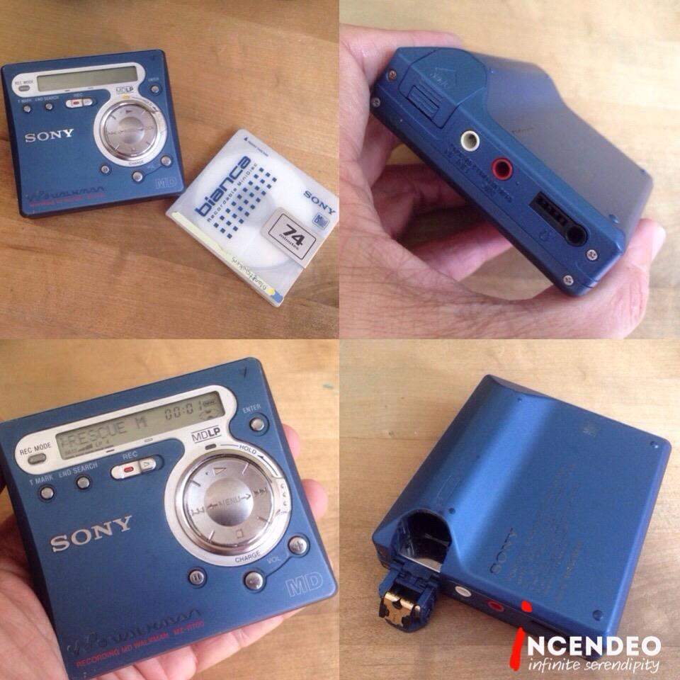 **incendeo** - SONY Mini Disc Walkman Recorder MZ-R700