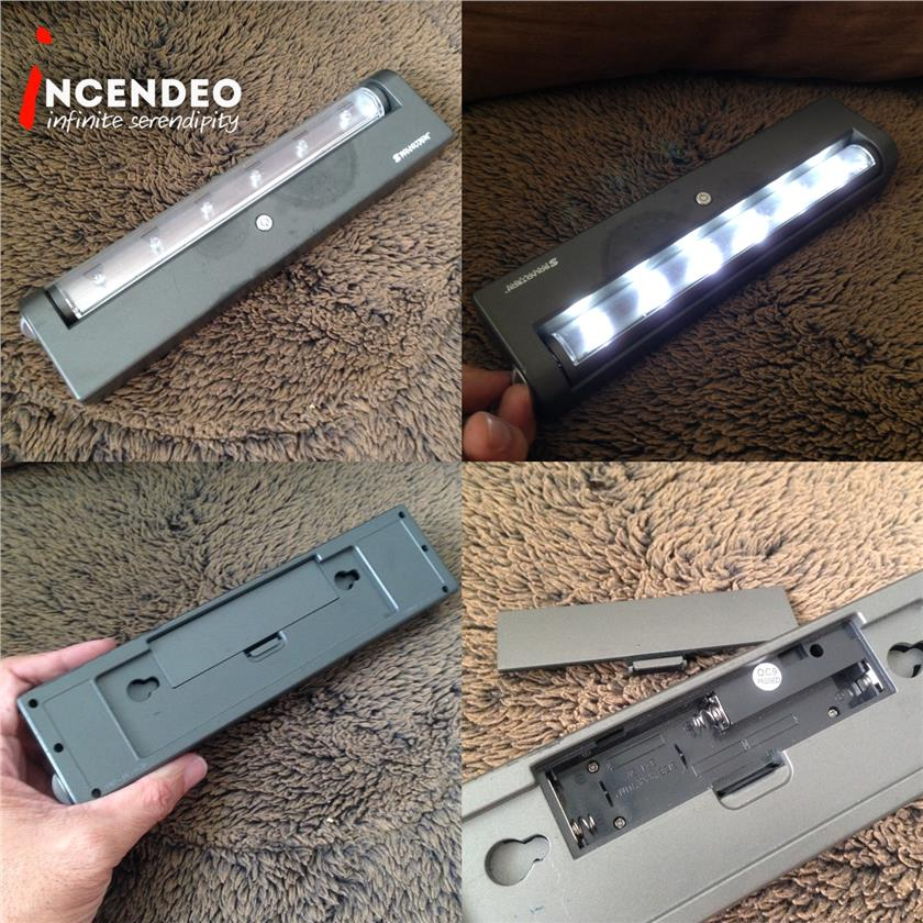 **incendeo** - SOUNDTECH Portable LED Light