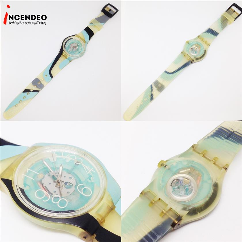 **incendeo** - Swatch See-thru Collection Quartz Watch (2007)