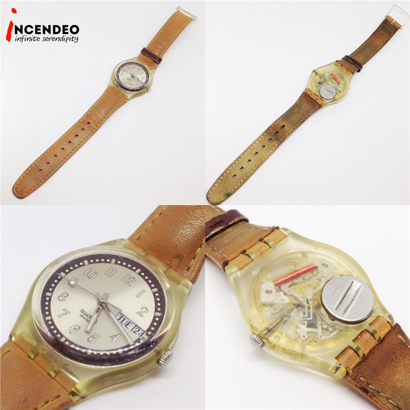 **incendeo** - Swatch Croissant Chaud Collection Quartz Watch (2003)