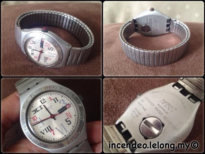 **incendeo** - SWATCH Irony Aluminium Date Collectible Watch