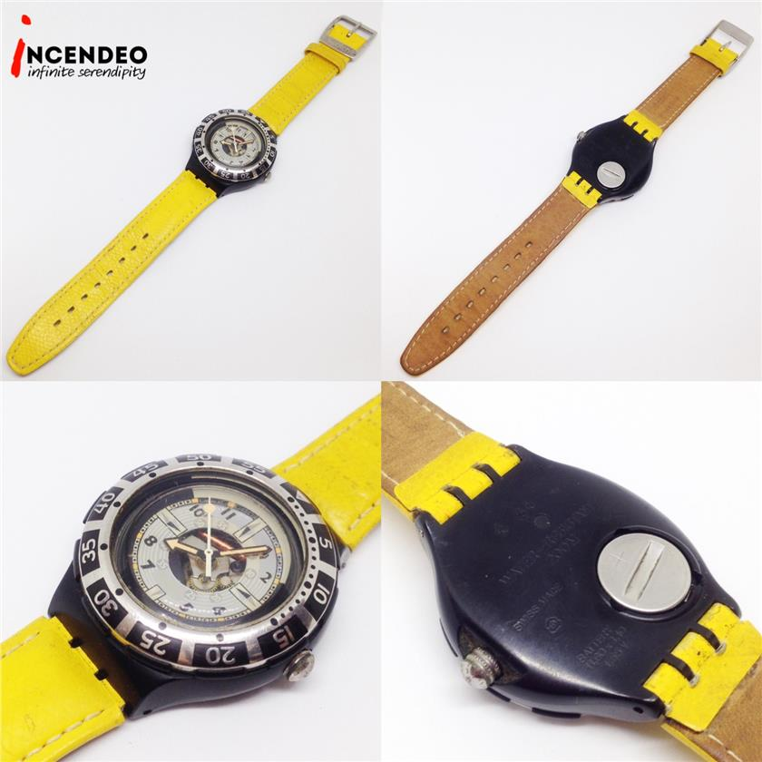 **incendeo** - Swatch Scuba 200 Collection Quartz Watch (1993)
