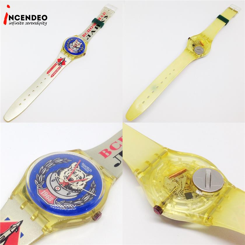 **incendeo** - Swatch Soviet Space Dog Collection Quartz Watch (1994)