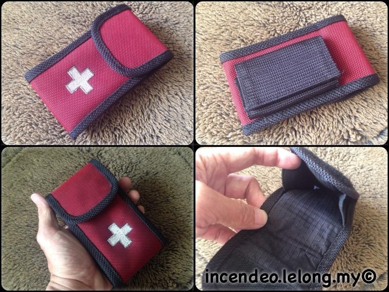 **incendeo** - Swiss Cross Clip-on Small Pouch