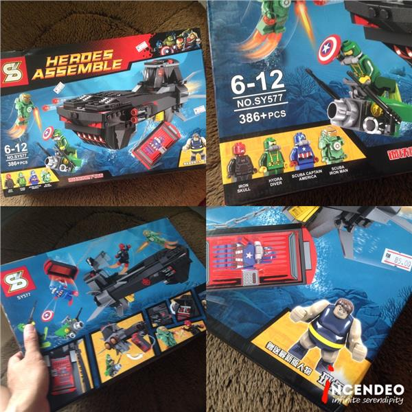 **incendeo** - SY Heroes Assemble Building Blocks Set SY577