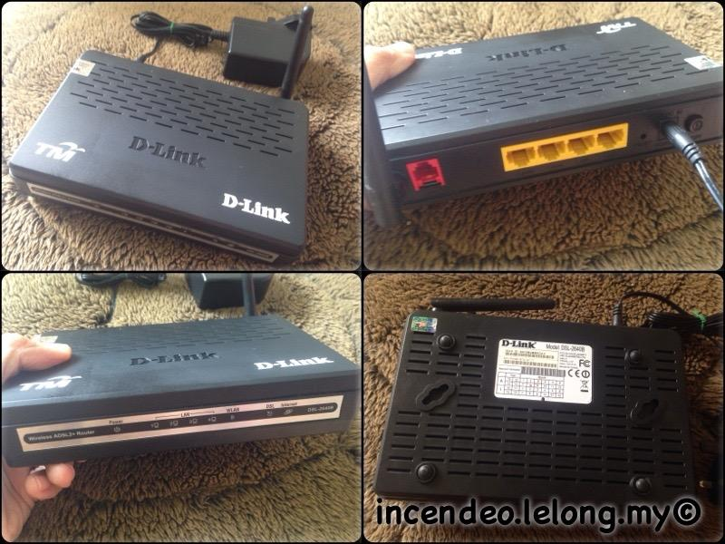**incendeo** - TM D-Link Wireless ADSL2+ Router DSL-2640B