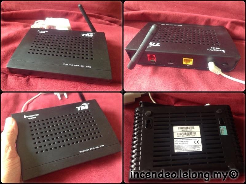 **incendeo** - TM innacomm ADSL2+ Wireless Router W3100