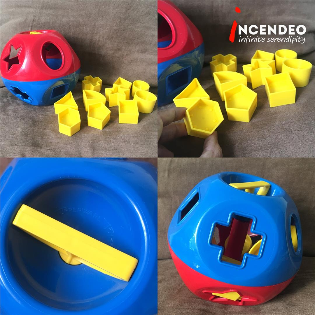 **incendeo** - Tupperware Shape-O Toy Ball