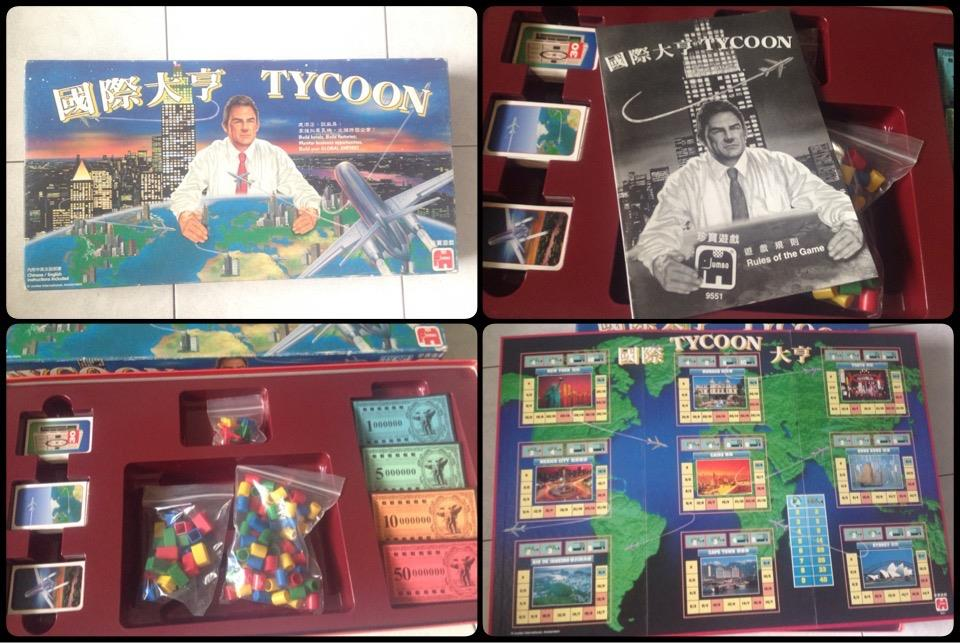 **incendeo** - TYCOON Board Game for Family