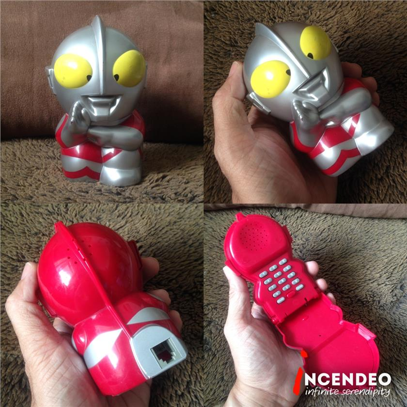 **incendeo** - ULTRAMAN Collectible Desktop Telephone