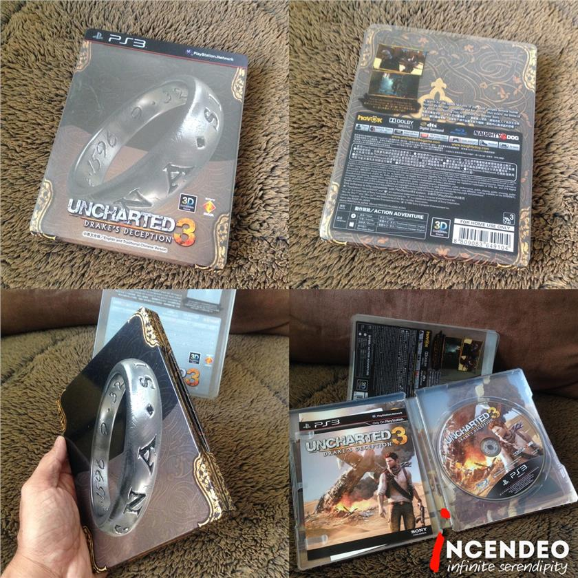 **incendeo** - Uncharted 3 Drake's Deception Game for Sony PS3