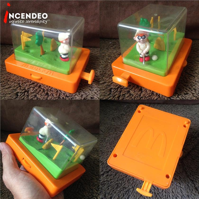 **incendeo** - Vintage McDonalds Collectible Golf Game (2001)