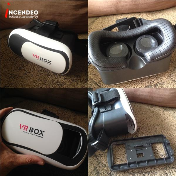 **incendeo** - VR BOX Virtual Reality Headset for Mobile Phone