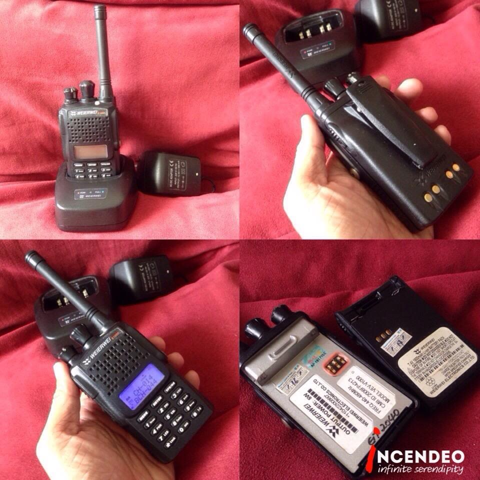**incendeo** - WEIZRWEI 2-way Radio Walkie Talkie VEV-V1000