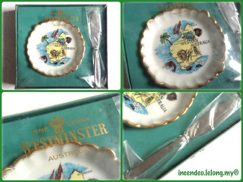 **Incendeo** - WESTMINSTER Australia Fine China Souvenir Set