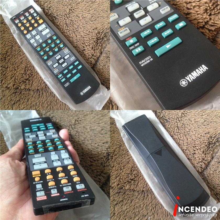 **incendeo** - YAMAHA Home Theatre Universal Remote Control RAV250