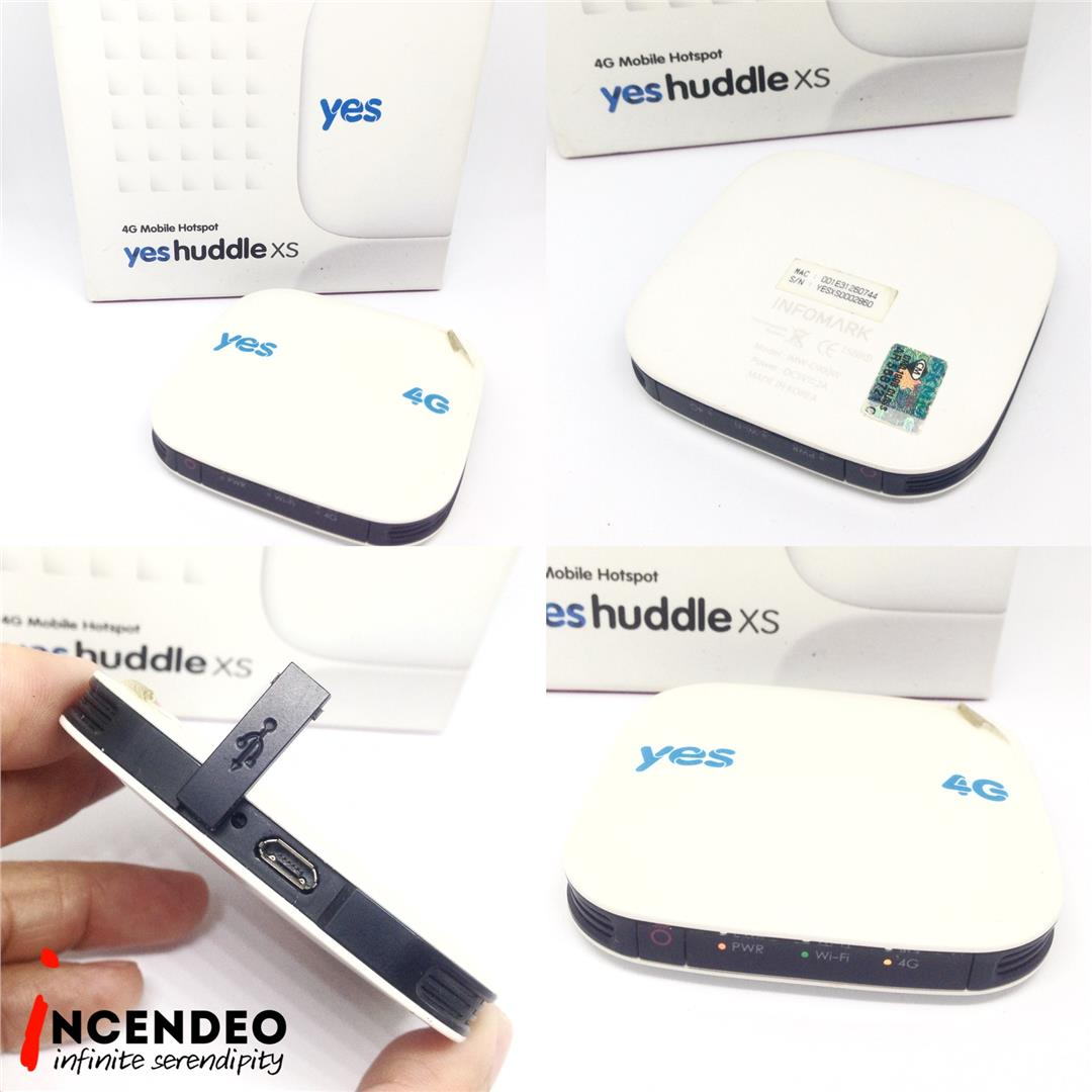 **incendeo** - yes huddle XS 4G Wireless Internet Hotspot