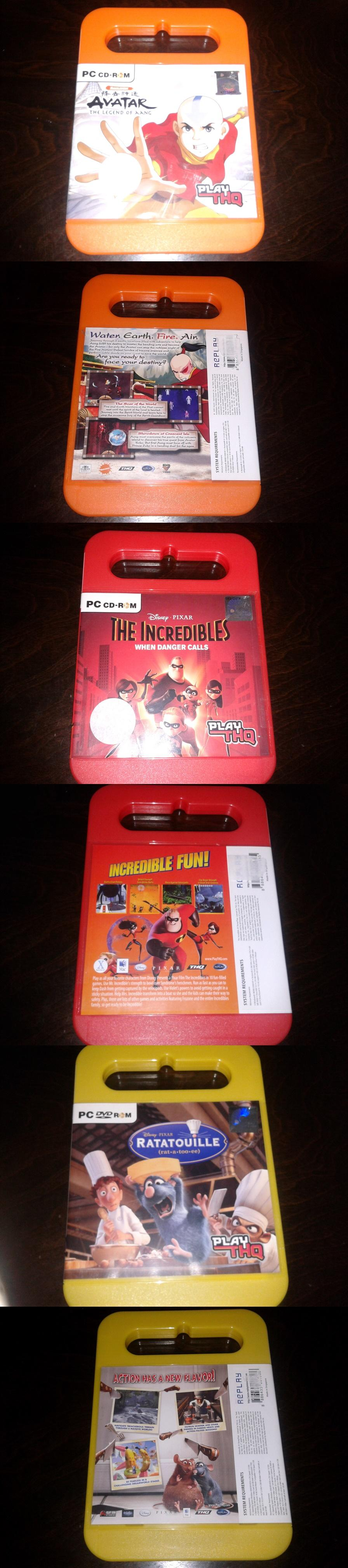 The Incredibles Ratatouille Avatar The Legend of Aang Ori PCD-ROM