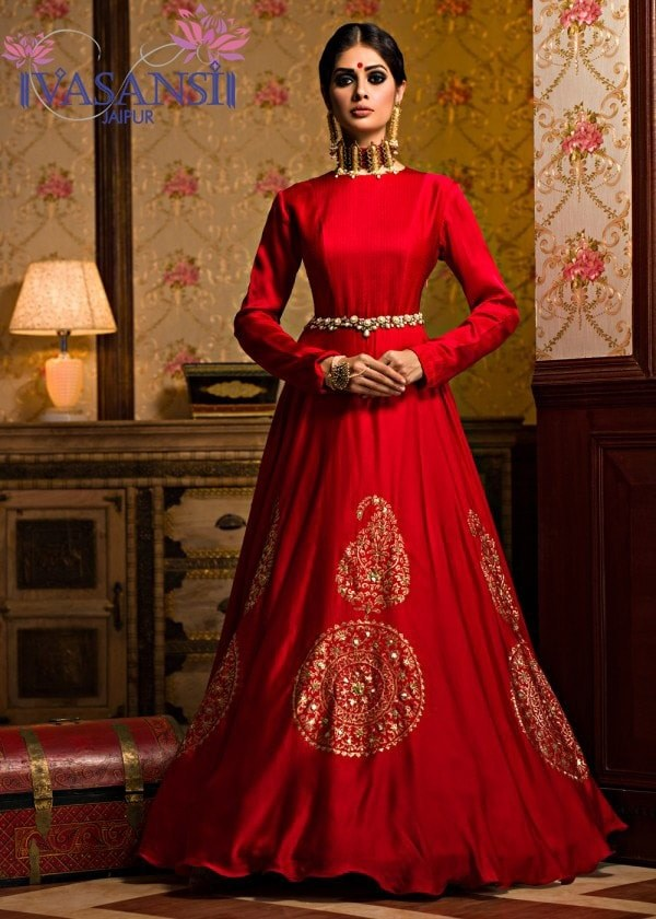 Amazing Indian Ethnic Gowns Photos - Best Evening Gown Inspiration ...