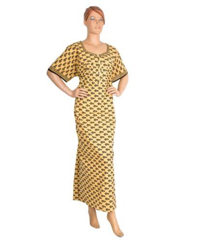 Indian Style Cotton Nighty