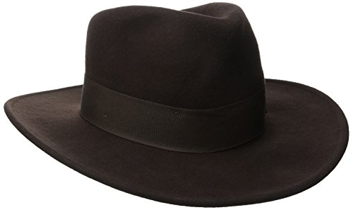 8fa7a89836373 ... get indiana jones mens crushable wool felt fedora hat brown large.  u2039 u203a fe974 ebf02