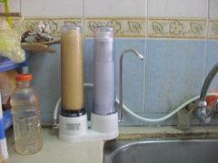 Indoor Drinking Water Filter Nishimen Double Filter System
