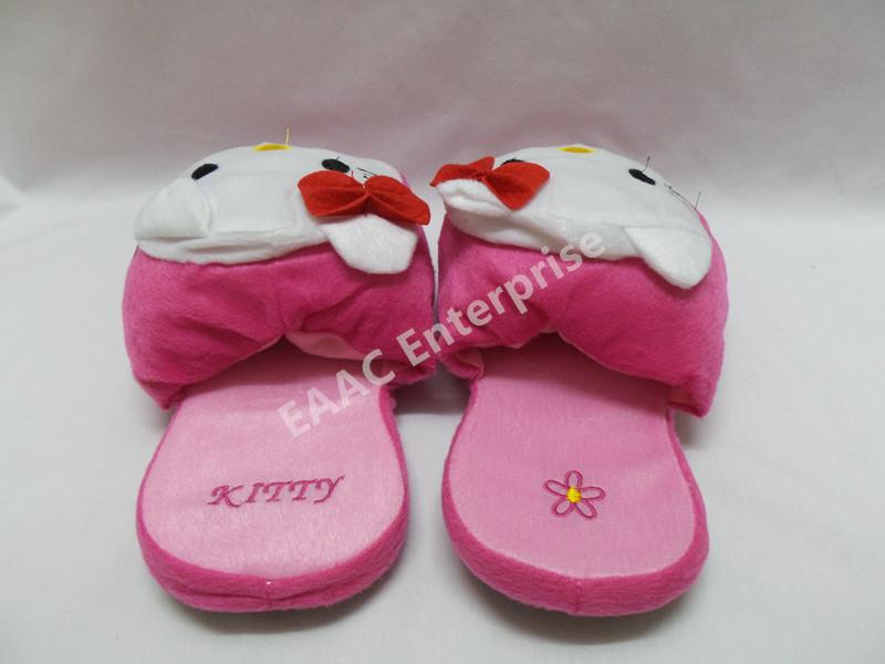 Indoor Hello Kitty Cartoon Office Home Bedroom Slippers Sandals Shoes
