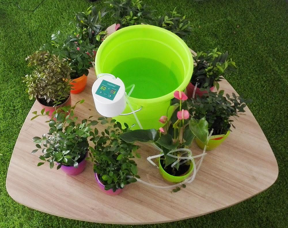 Automatic watering system for potted plants - Indoor Plants Automatic Watering System