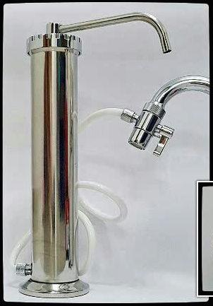 Indoor Water Filter HBS Stainless Steel Purifier System (Table Top)