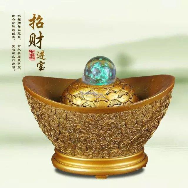 Feng Shui Indoor Water Fountain Indoor water fountain feng shui gold end 192019 1059 am indoor water fountain feng shui gold ingot prosperity decoration new a workwithnaturefo