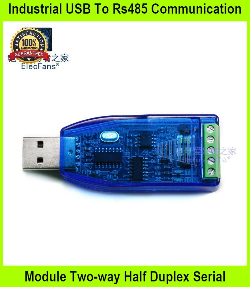 Industrial USB To Rs485 Communication Module Two-way Half Duplex Seria