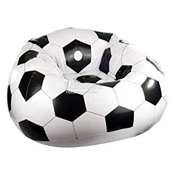 Inflatable Comfortable Football Soccer Chair Sofa Couch Seat
