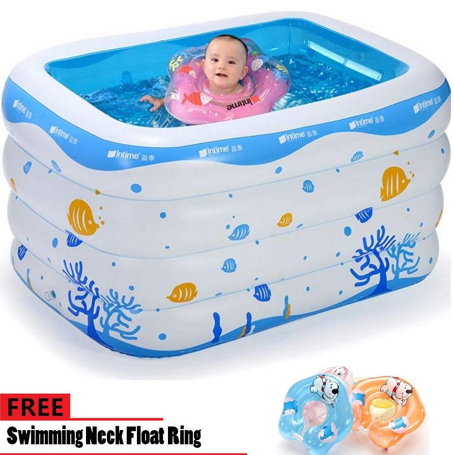 Inflatable Swimming Pool 143*105*75 (end 12/23/2018 4:49 PM)