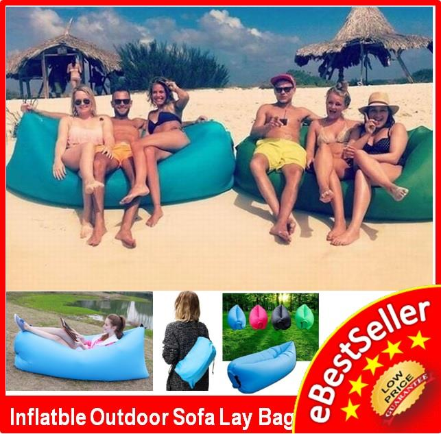 Inflatable Wind Hangout Picnic Camping Bag Lamzac Sofa Lounge Air Bed