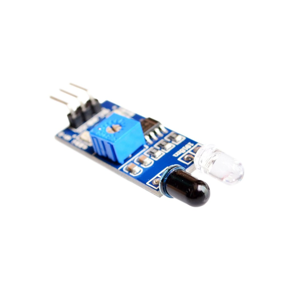 Infrared IR Obstacle Avoidance Tracking Sensor Module Range Finder For Arduino