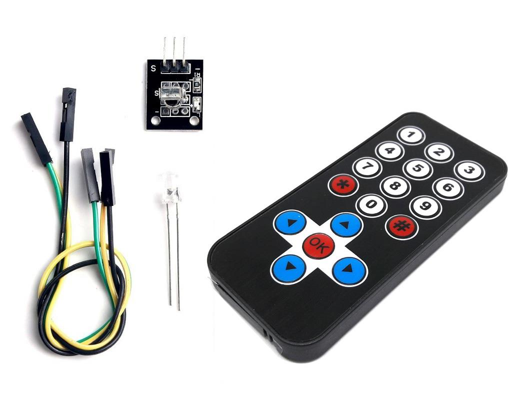 Infrared IR Wireless Remote Control Module Kit for Arduino & Raspberry