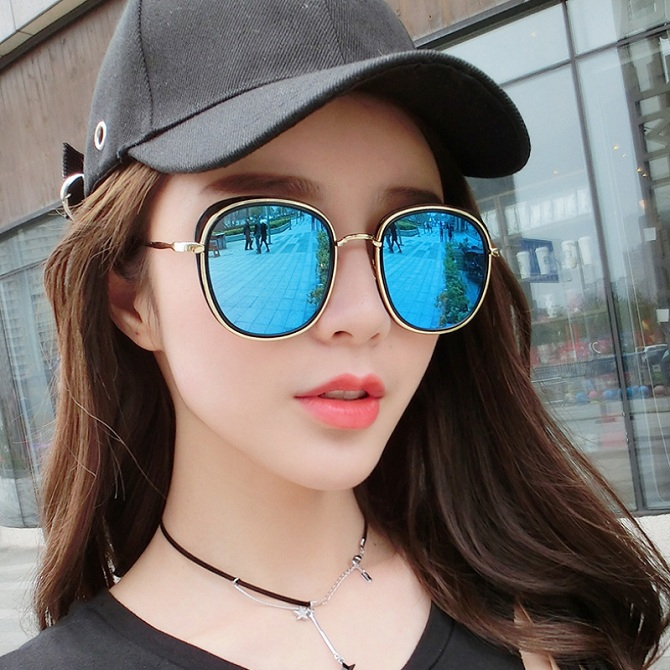 0ca506df85 Inheritance 2018 New Sunglasses Female Sunglasses Round Face Polarized  Lenses. ‹ ›