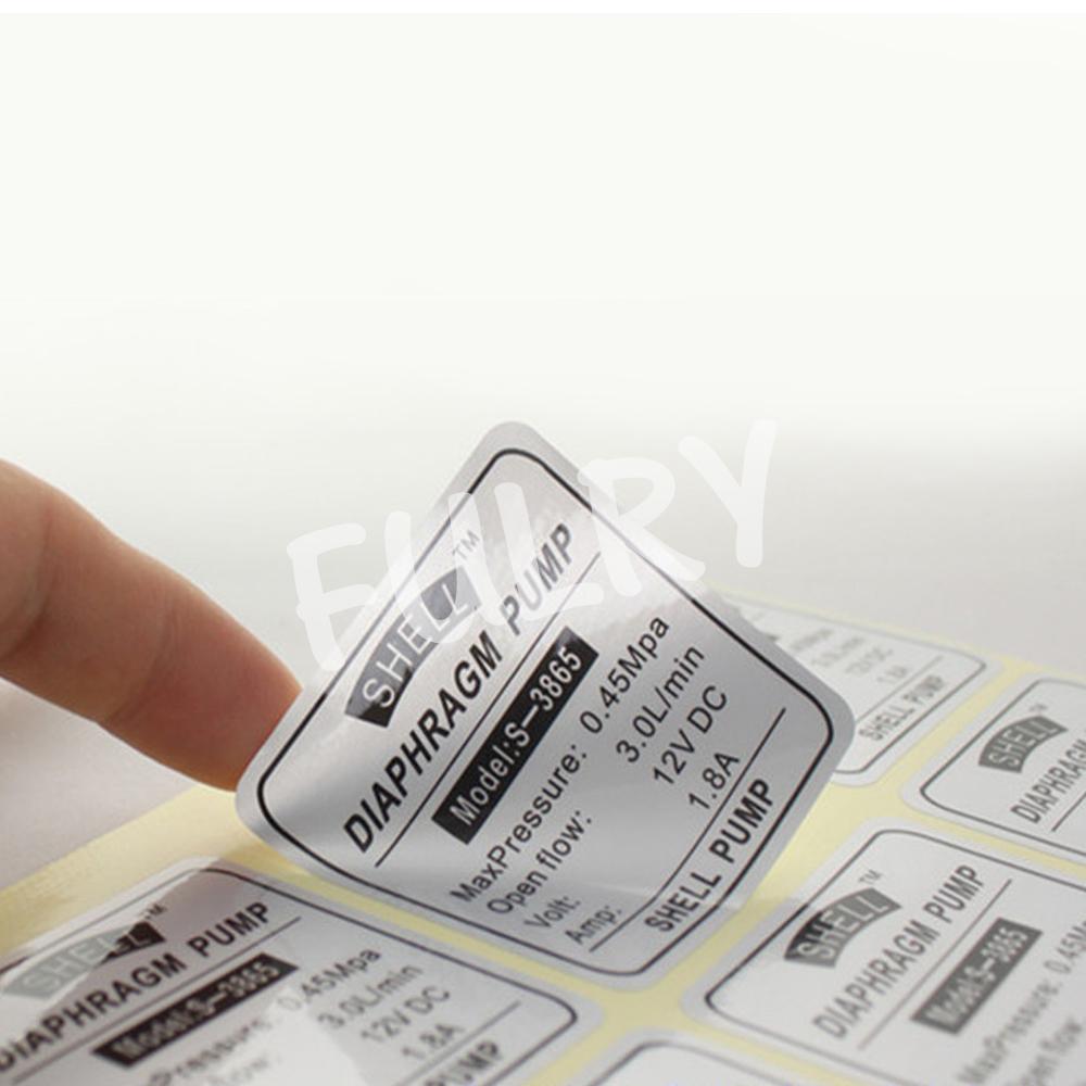 InkJet PVC Sticker Foil Silver A4 Size
