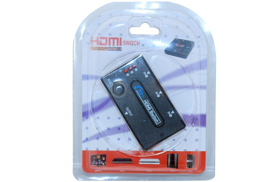 INNO 1.4V 3Port with Control HDMI KVM SWITCH (CT86)