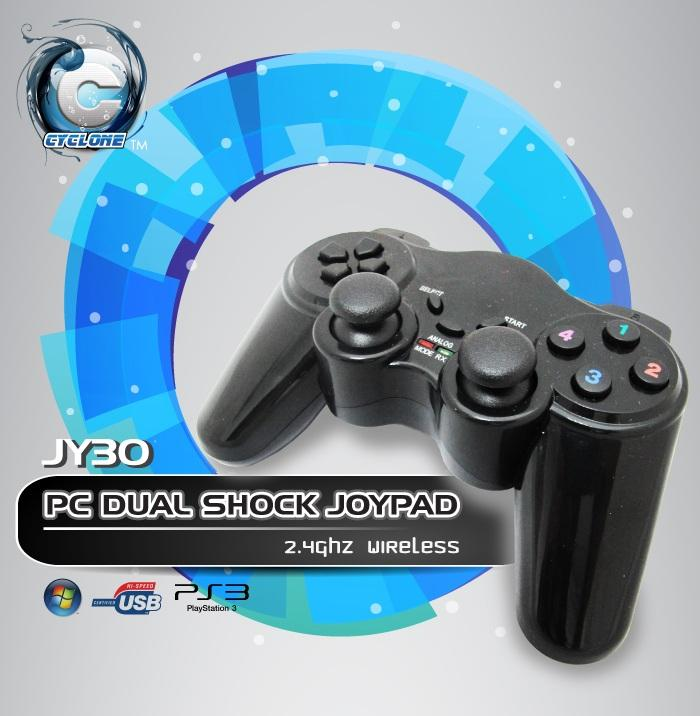 INNO DUAL SHOCK VIBRATE WIRELESS GAMEPAD CONTROLLER (JY30)