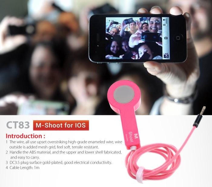 INNO M-SHOOT SELF TAKE PICTURE CABLE FOR IOS (CT83)