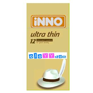 iNNO Ultra Thin Condoms - 12's (For Great Sensitivity) Best Selling!