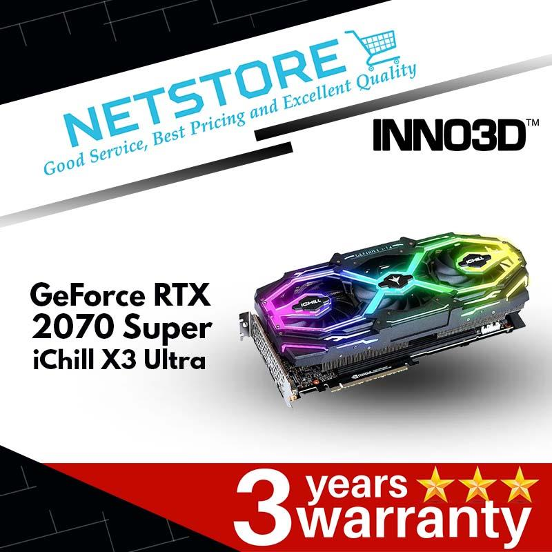 INNO3D GeForce RTX 2070 Super iChill X3 Ultra - 8GB GDDR6 | 14Gbps